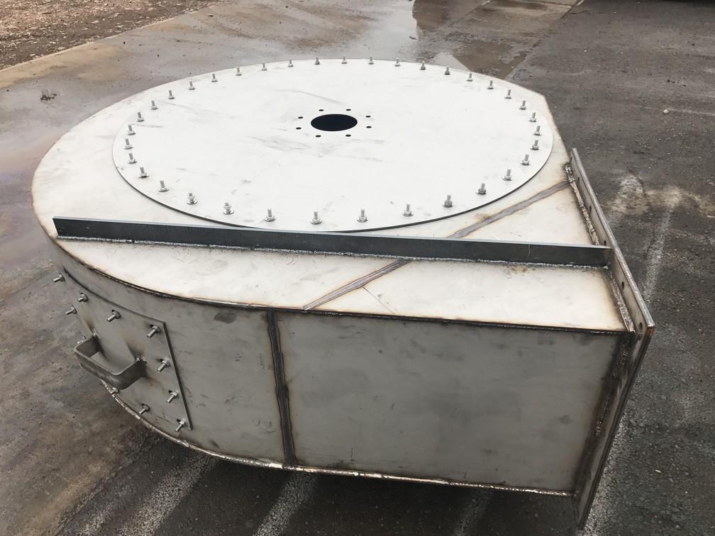 Сборка корпуса вентилятора